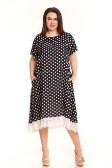 Платье 586 (темно синий)
