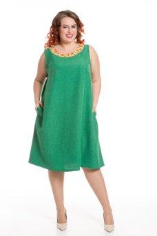 Платье 599 (зеленый)