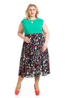 Платье 600 (зеленый)