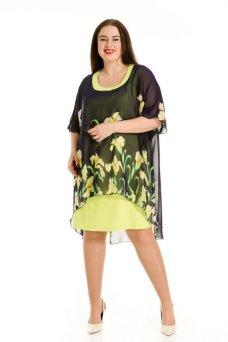 Платье 610 (горчица)