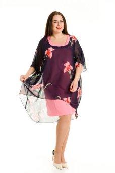 Платье 610 (розовый)
