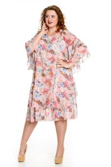 Платье 620 розовый