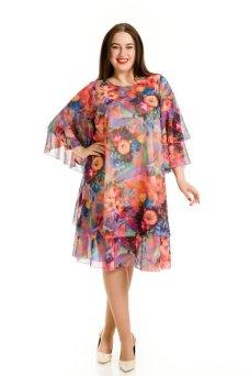 Платье 620 сиреневый