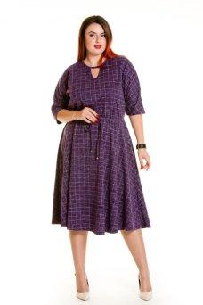 Платье 631 (фиолетовый)