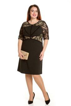 Платье 662 (черный)