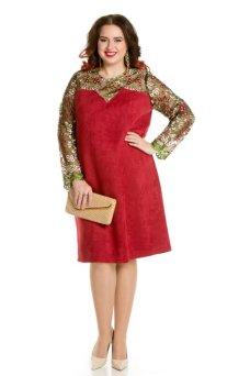 Платье 670 (красный)