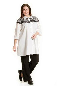 Рубашка 672 (белый)