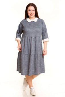 Платье 678 (голубой)