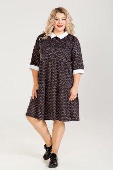 Платье 678 (темно синий)