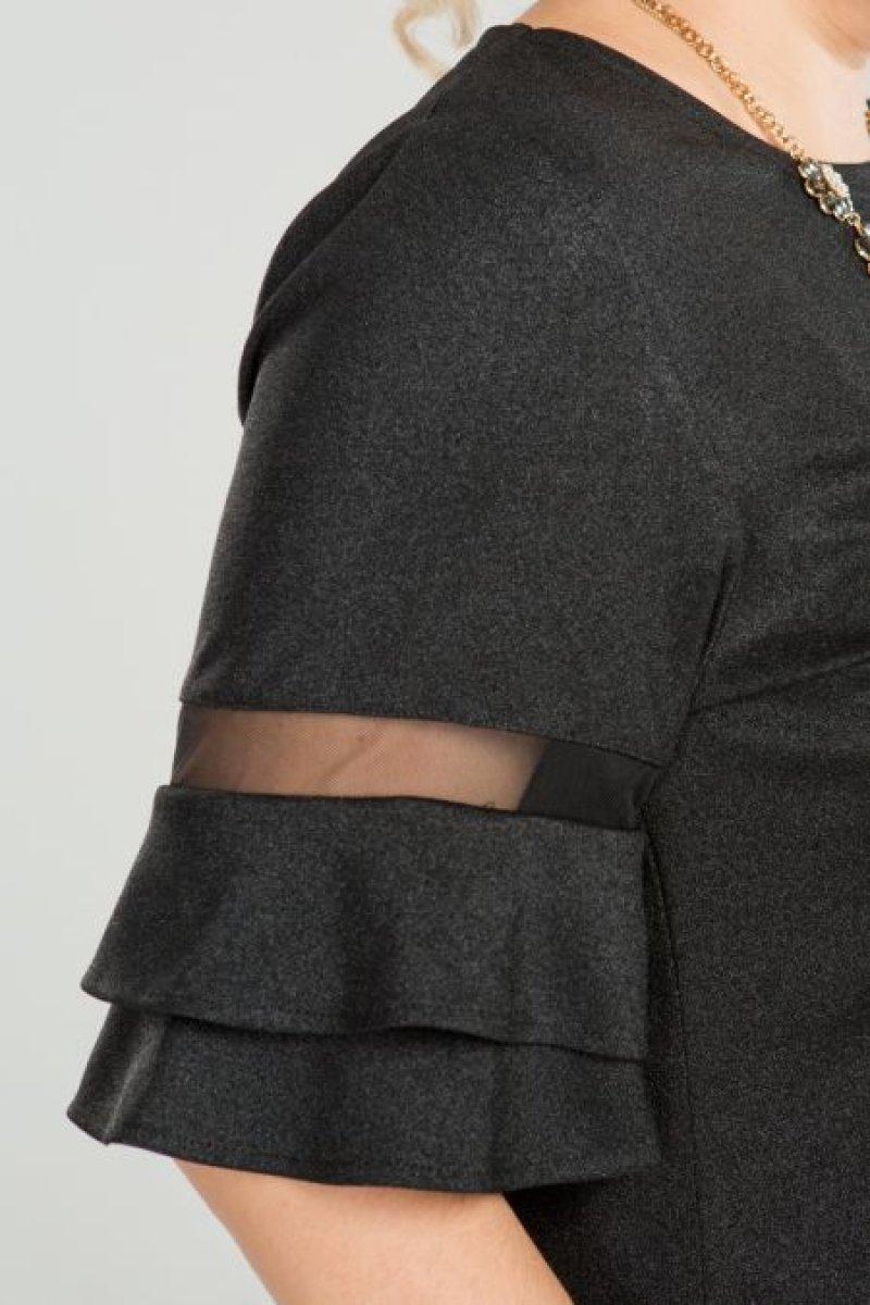 Блузка 689 (черный)