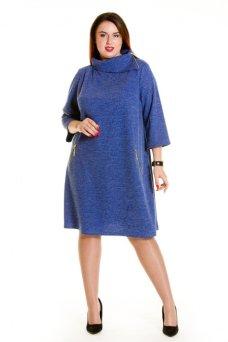 Платье 691 синий