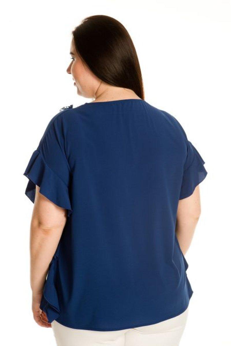 Блузка 705 (синий)
