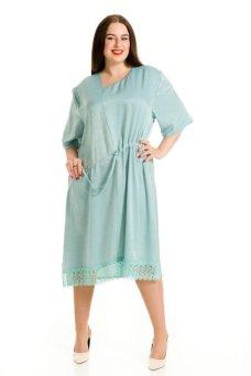 Платье 712 голубой