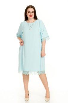 Платье 714 (голубой)