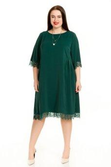Платье 714 (темно зеленый)