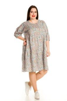 Платье 719 (серый)
