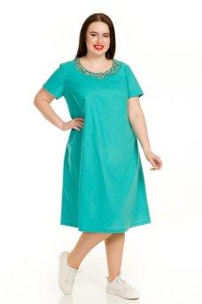 Платье 729 (бирюза)