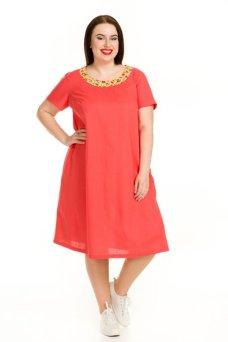 Платье 729 (красный)