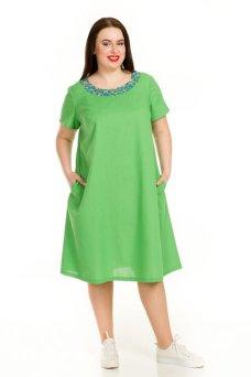 Платье 729 (зеленый)