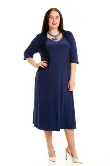 Платье 760 (темно синий)