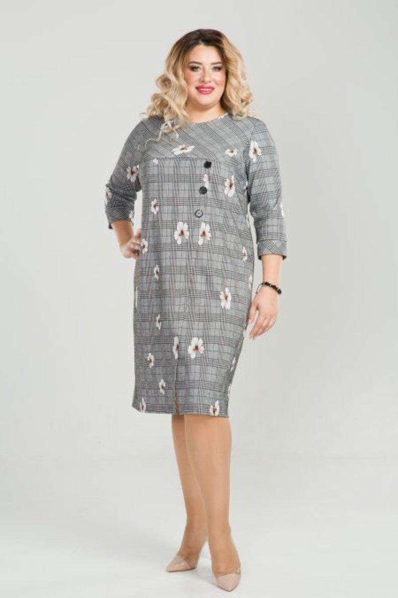 Платье 772 (серый)