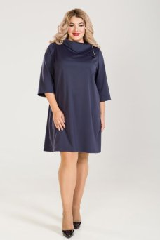 Платье 776 (темно-синий)