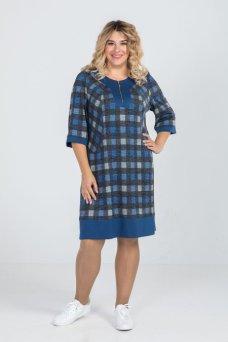 Платье 787 (синий)