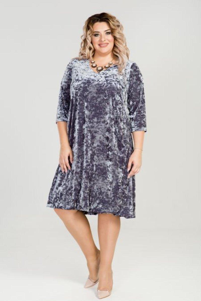 Платье 790 (серый)