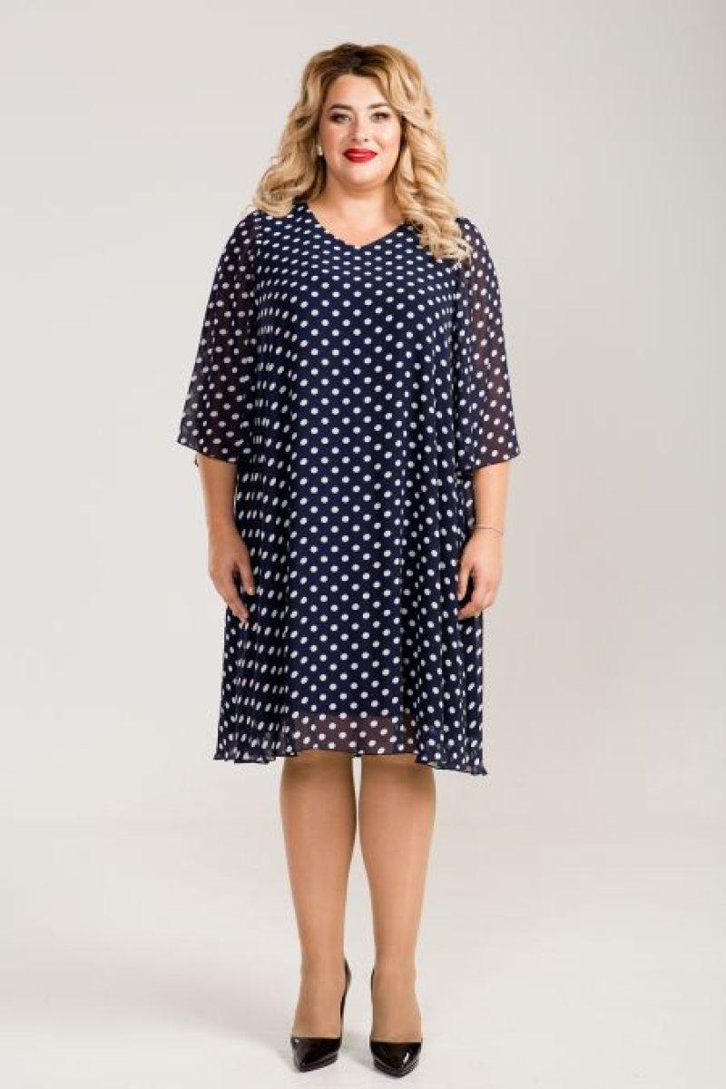Платье 794 (синий)