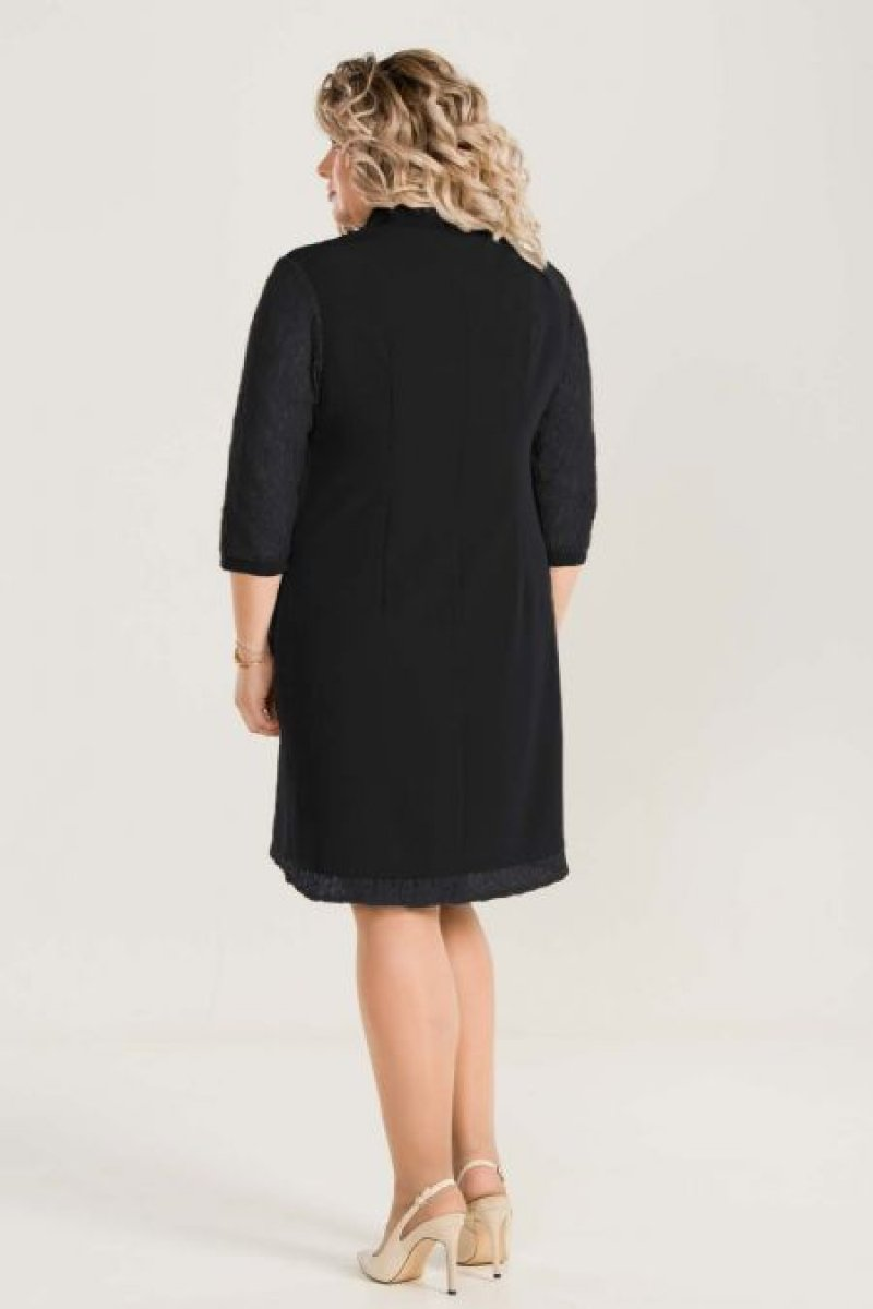 Платье 796 (черный)