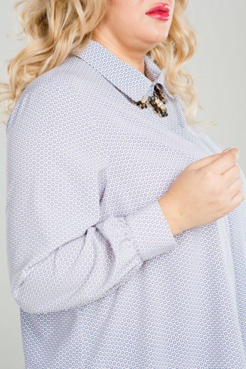 Рубашка 819 (пудра)