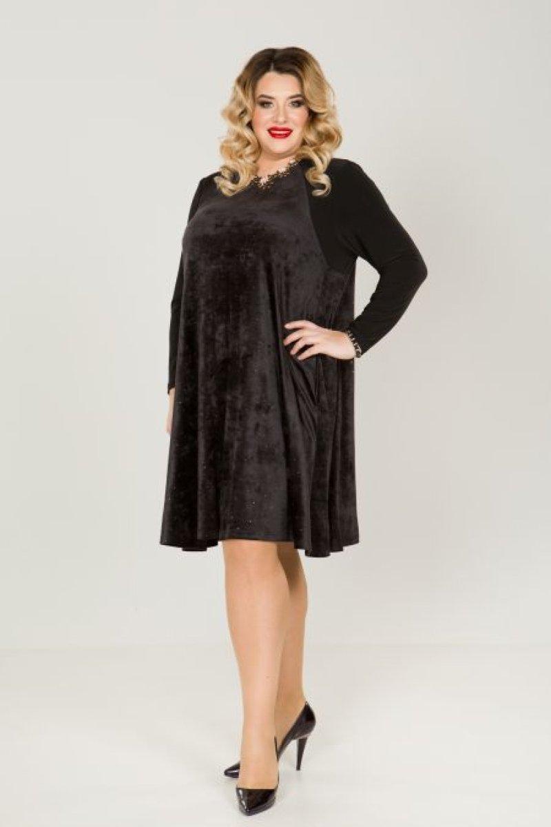 Платье 823 (черный)