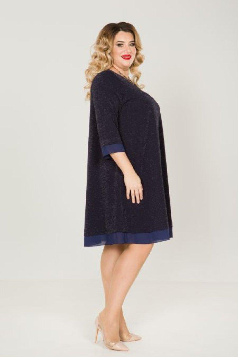 Платье 829 (темно синий)