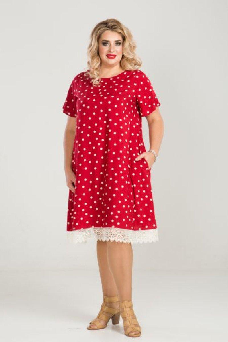 Платье 849 (красный)