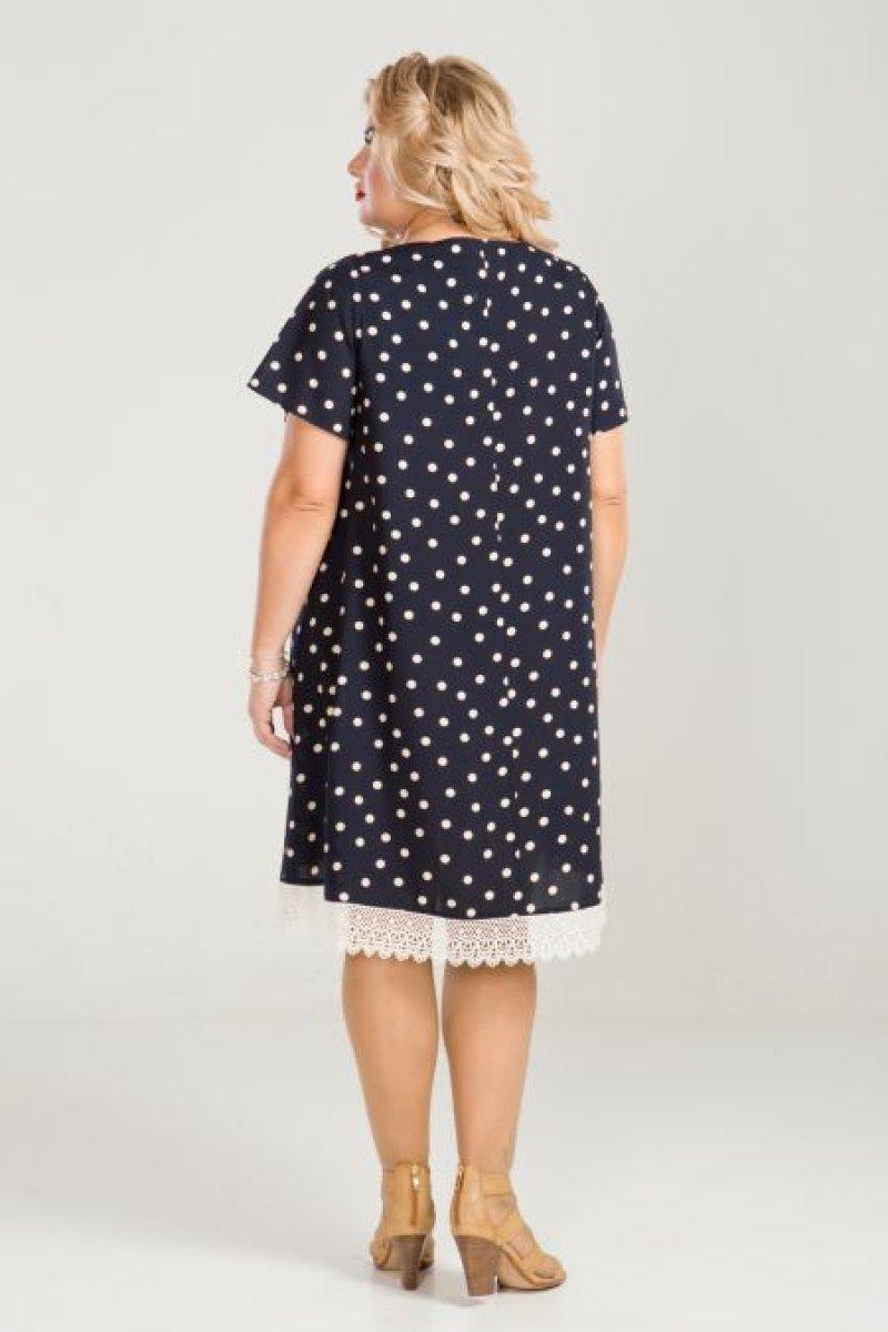 Платье 849 (темно синий)