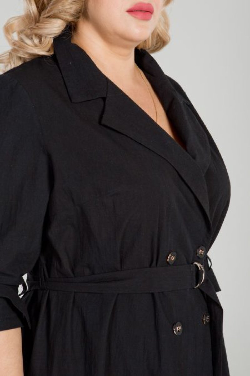 Платье 862 (черный)
