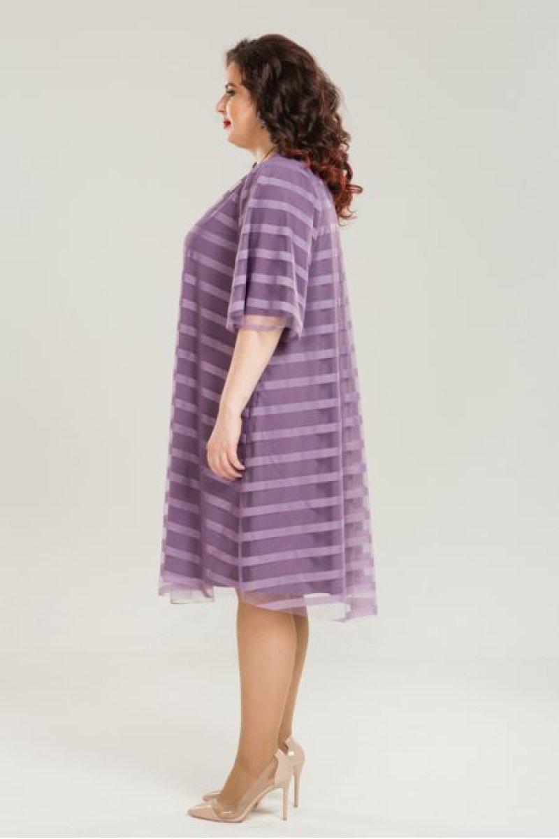 Платье 863 (сирень)