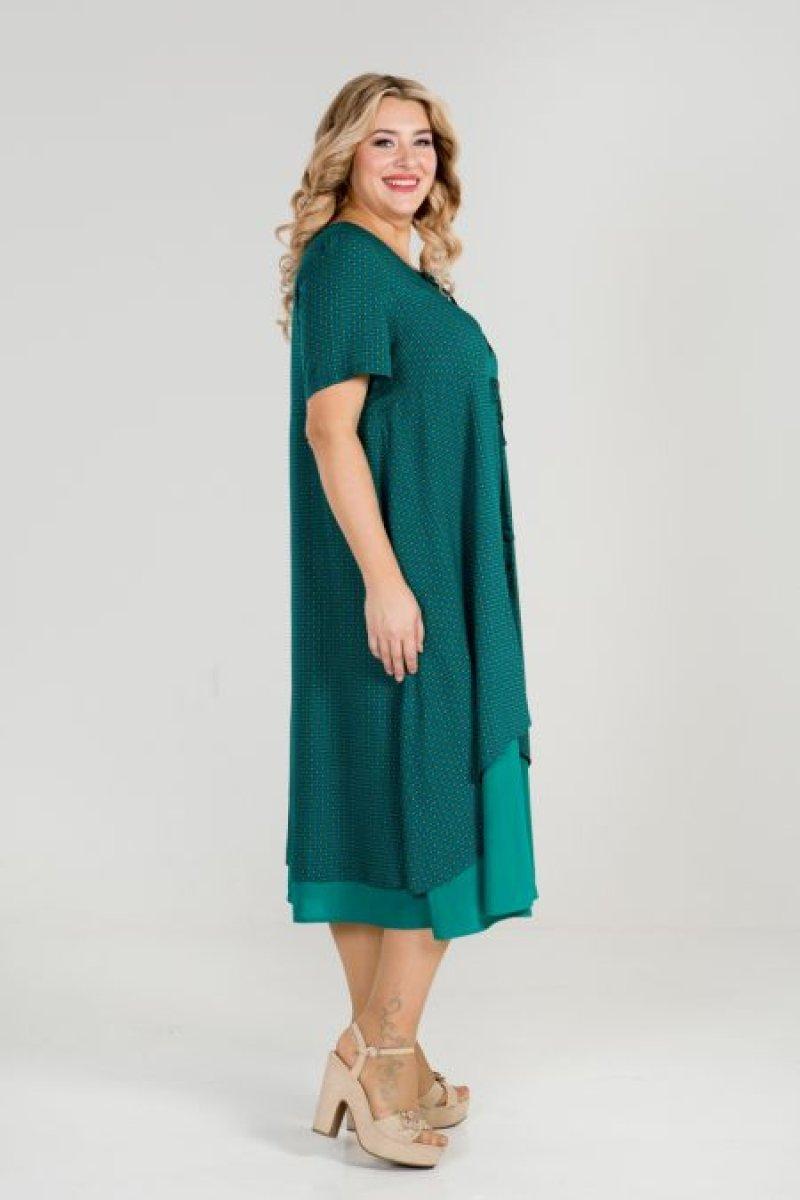 Платье 869 (зеленый)