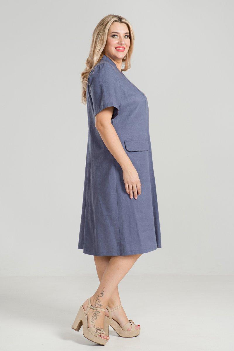 Платье 884 (синий)