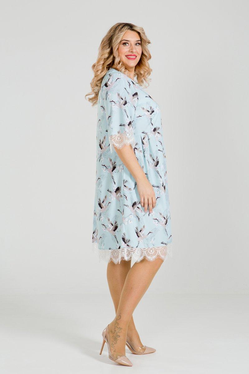 Платье 903 (голубой)