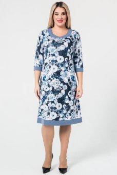 Платье 931 (синий)