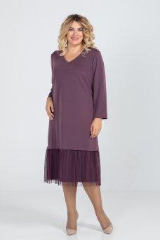 Платье 962 (фиолет)