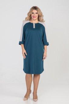 Платье 985 (бирюза)