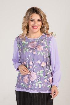 Блузка 995 (фиолет)