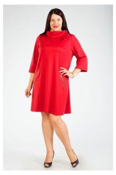 Платье 191 (красный)