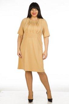Платье 399 (бежевый)