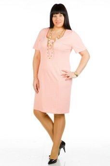 Платье 415 (креветочный)