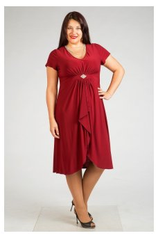 Платье 447 (винный)