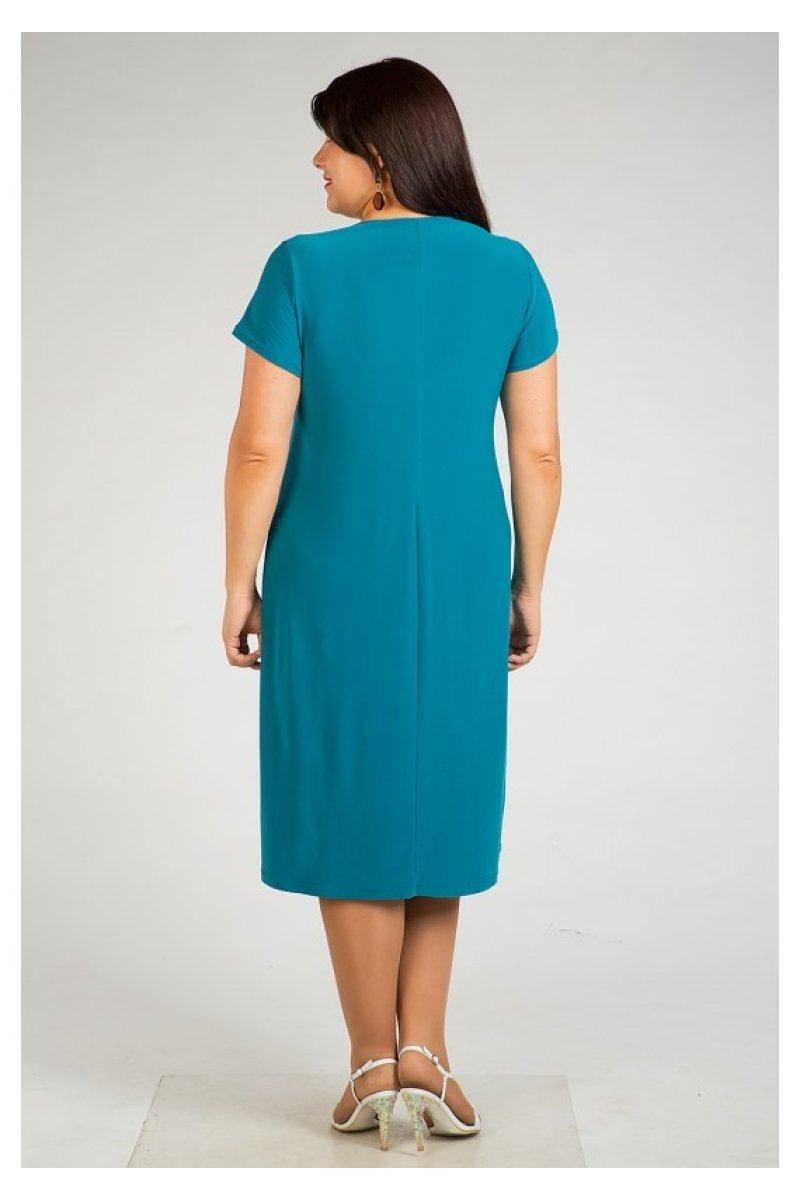 Платье 447 (бирюзовый)