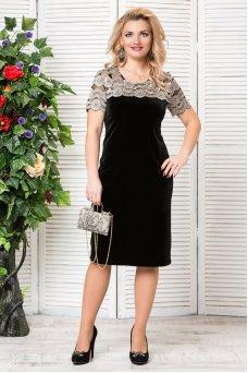 Платье Катрин (черный)